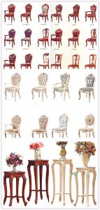 Dining Room Furniture Sets with Dining Table and Arm Chair pictures & photos