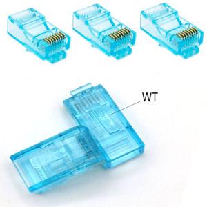 Cat 5e UTP RJ45 Plug 100-Park RJ45 Unshielded Plug Modular 8p8c Plug Patch Cable Connector pictures & photos