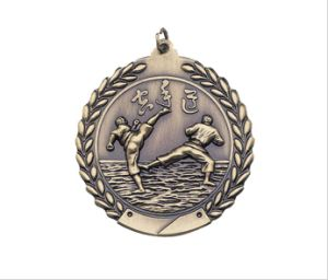 2′′ 3D Casting Karate Medals pictures & photos