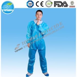 Nonwoven Work Uniform Disposable Work Uniform pictures & photos