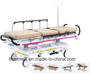 X Ray MRI Compatible Emergency Patient Trolley pictures & photos