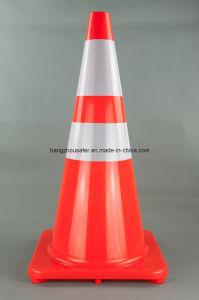 28 Inch Flourescent Orange PVC Cone (S-1232) pictures & photos
