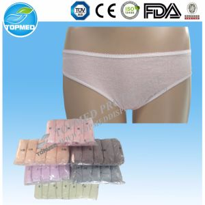 100% Cotton/Tc Sanitary Underwear for Hotel Travel Medical SPA Sauna pictures & photos