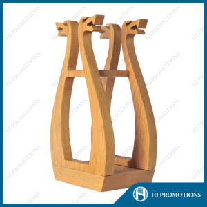 Wooden Wine Bottle display Box (HJ-PWTY01) pictures & photos