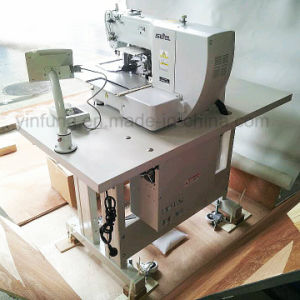 High Speed Electric Computerized Shoes Making Pattern Embroidery Sewing Machine pictures & photos