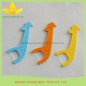 Colorful Disposable Dental Floss Picks Floss Holders pictures & photos