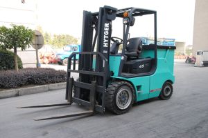4.5ton Battery Electric Forklift with Paper Clamps (FB45) pictures & photos