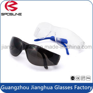 Dark Outdoor Work Safety Eye Wear Wholesale Welding Protection Glasses with Dark Lenses pictures & photos