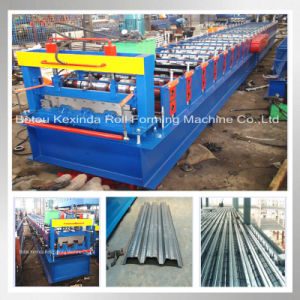 Cold Steel Floor Decking Panel Forming Machine pictures & photos