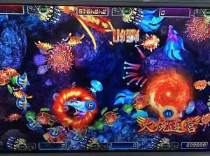 Mermaid Fishing Game Machine Slot Machine 3D Fishing Hunter Machine pictures & photos