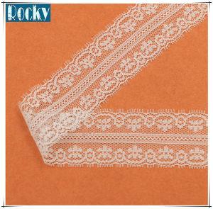 4cm White Non-Elastic Lace for Wedding Dress Design pictures & photos