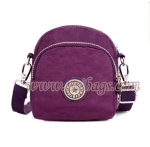 Promotion Women Travel Nylon Shopping Messenger Bag