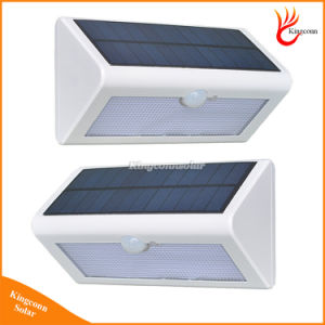 500lm Waterproof Solar Powered Outdoor Motion Sensor Detector Wall Light Path Garage Patio Lighting Security Night Lights Lamp pictures & photos