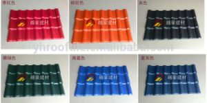 Free Samples Building Materials ASA Plastic PVC Tile Roofing Sheet pictures & photos