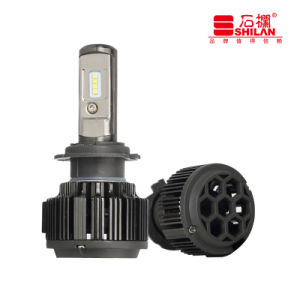 Pass Ce/Emark/DOT/RoHS Philips Csp 35W T6 H7 LED Auto Head Lamp pictures & photos
