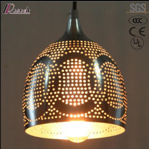 Black Metal Hollow Round Pendant Lighting with Dining Room pictures & photos