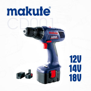 Makute 18V Ni-CD Battery Cordless Drill Driver 10mm Drill (CD001) pictures & photos