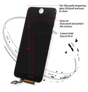 AAA No Dead Pixel Cell Phone LCD Touch Screen for iPhone 5 5g 5s 5c pictures & photos