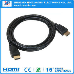 1.4V 1.5m Od5.5 Gold Plated HDMI Cable pictures & photos