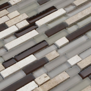 Foshan Mosaic Tile Home Depot, Strip Shape Mosaic pictures & photos