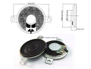 30mm 4-32ohm 0.25-1W Thin Mini Binaural Speaker pictures & photos