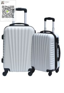 ABS Trolley Case Set Zipper Style pictures & photos