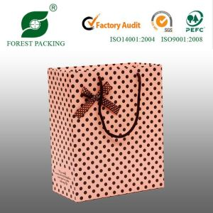 Paper Shopping Bag with Ribbon (FP11052) pictures & photos