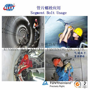 Curve Spear Tunnel Bolt for Concrete Ring pictures & photos