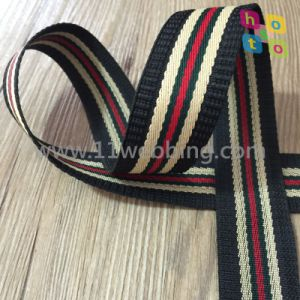 Striped Imitation Nylon Webbing for Bag and Garment Accessories pictures & photos