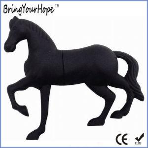 3D Design PVC Material Horse Shape USB Flash Drive (XH-USB-140) pictures & photos