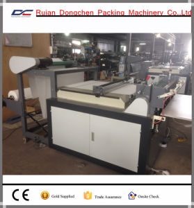 Non Woven Embossing and Transverse Cutting Machine (DC-HW) pictures & photos