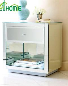 Handcraft Luxury Room Furniture Mini Mirror Nightstand pictures & photos