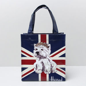 Small Size Dog Pattern PVC Shopping Bag (H008-13) pictures & photos