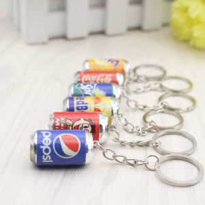 Promotional Gift Logo Cartoon Resin Key Ring Key Chain pictures & photos