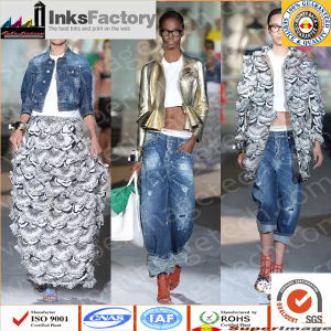 Jeans Printing Fabric and Pure Cotton Cold Transfer Fabric pictures & photos