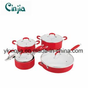 10PCS Aluminum Ceramic Sauce Pan Set, Cookware pictures & photos