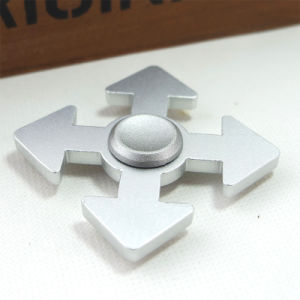 Wholesale Relieves Stress and Anxiety Aluminum Alloy Hand Fidget Spinner pictures & photos