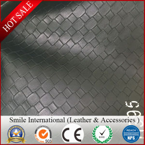 PVC Synthetic Leather Embosses for Sofa Bags Decoration Factory Wholesales Artificial Leather pictures & photos
