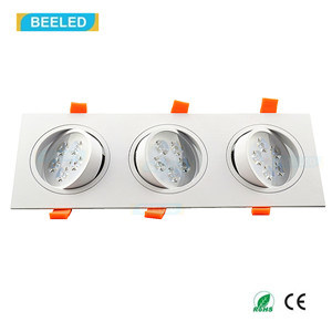 Square 15W Warm White LED Ceiling Lamp Dimmable LED Downlight pictures & photos