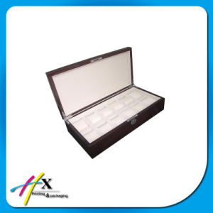 Luxury 14 Slots Wooden Gift Box for Watch Packaging pictures & photos