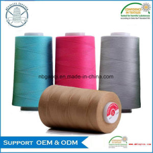 Super Quality 100% Polyester Leather Stitching Thread pictures & photos