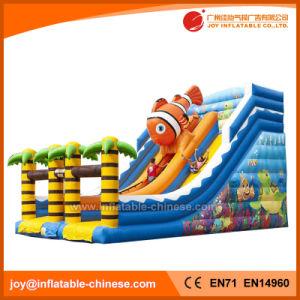 Jungle Bouncy Inflatable Dry Slide for Amusement Park (T4-102) pictures & photos