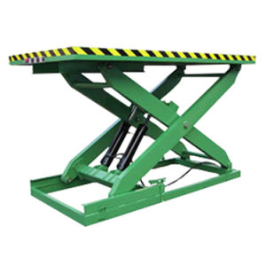 1-40ton Single Scissor Lift Stationary Lift Table (SJG2-1.2) pictures & photos
