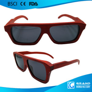 Custom Brand Vintage Eyewear Avaitor Wooden Sunglasses pictures & photos
