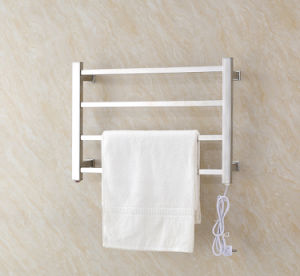 Wall Mounted SUS304 Stainless Steel Electric Towel Rails with Square Shape pictures & photos