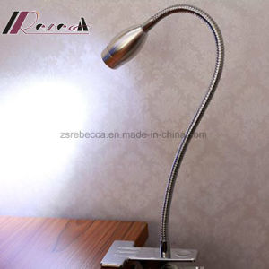 Modern Simple LED Small Clip Bedside Reading Table Lamp pictures & photos