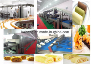 Kh 600 Ce Approved Swiss Roll Cake Machine pictures & photos