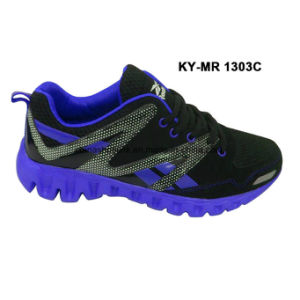 New Men Running Sport Shoes Athletic Shoes pictures & photos