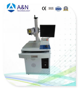 A&N Low Cost Fiber Laser Marking Machine for Metal/Plastic/Glass