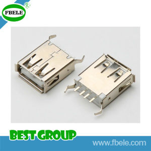 USB/a Plug/Solder/for Cable Ass′y/Short Type USB Connector pictures & photos
